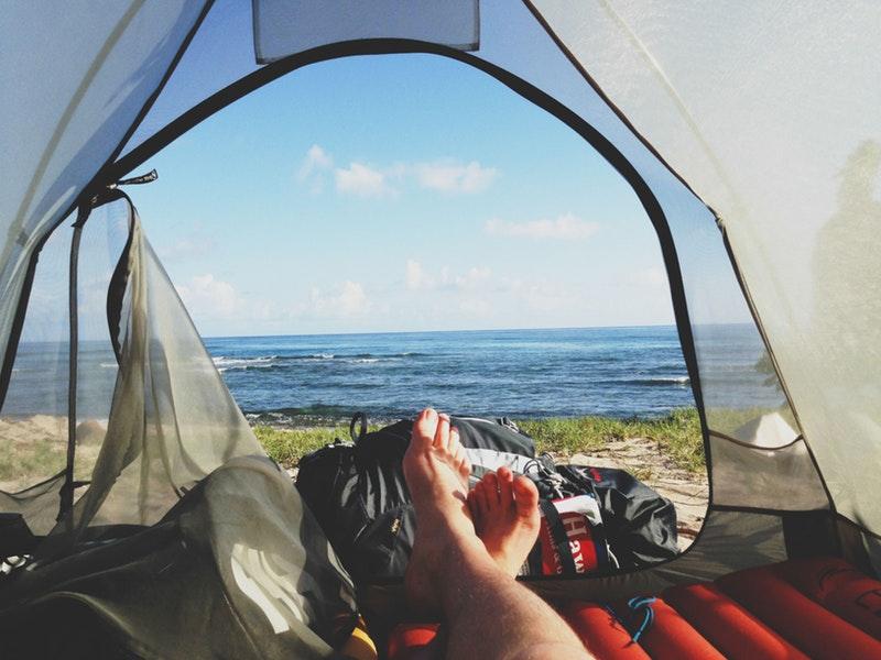 Prøv en spændende campingplads